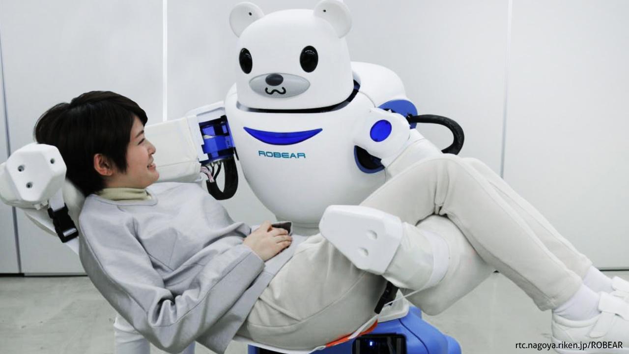 Roboter Pflege